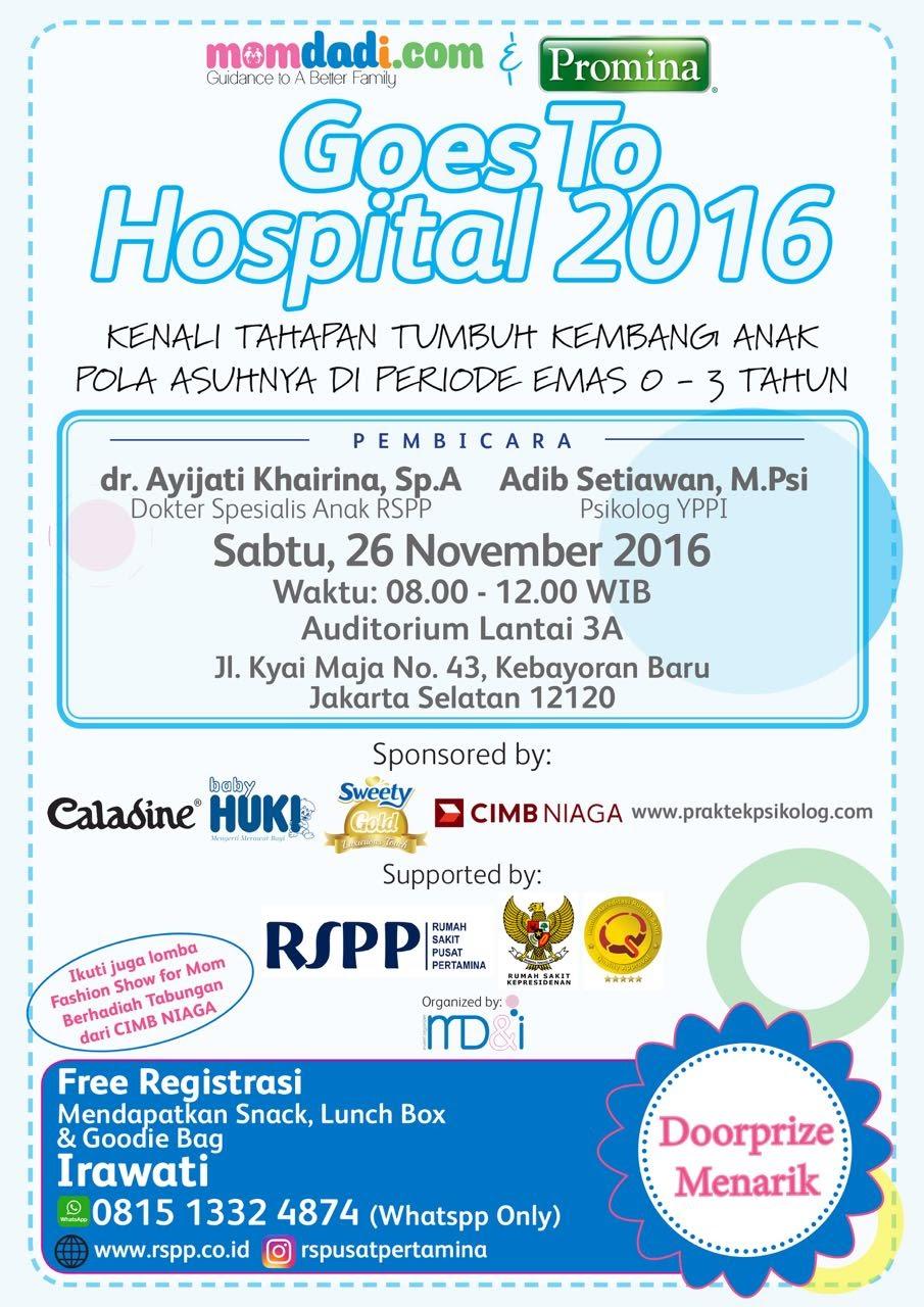 momdadi.com & promina goes to hospital 2016 26 November 2016